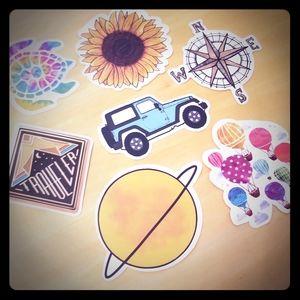 Traveler Sticker Bundle